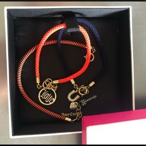 Juicy Couture Friendship Charm Bracelet Set
